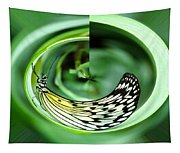 Butterfly Funnel Tapestry