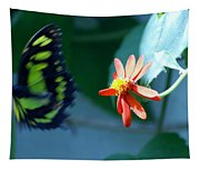 Butterfly In Flight Tapestry