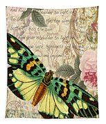 Butterfly Kisses-b Tapestry