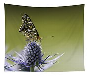 Butterfly On Thistle Tapestry
