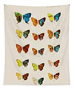 Butterfly Plate Tapestry