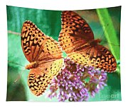 Butterfly Twins Tapestry