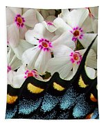 Butterfly Wing And Phlox Tapestry