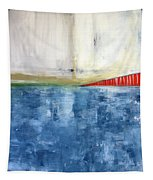 By The Bay- Abstract Art Tapestry
