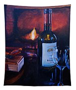 By The Fire Tapestry