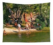 By The River Tapestry