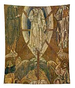Byzantine Icon Depicting The Transfiguration Tapestry