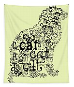 C Is For Cat Tapestry