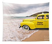 Cab Fare To Maui Tapestry
