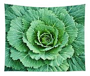 Cabbage Leaves Tapestry