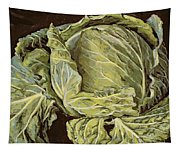 Cabbage Still Life Tapestry