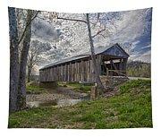 Cabin Creek Covered Bridge Tapestry