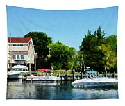 Cabin Cruisers Tapestry