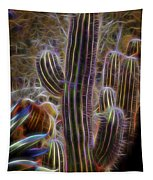Cacti Lights Tapestry
