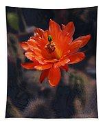 Cactus Blossom 1 Tapestry