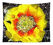 Cactus Flower Tapestry
