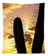 Cactus Sunset Tapestry