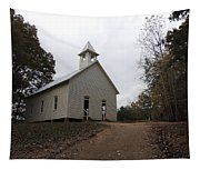 Cades Cove Church Tapestry
