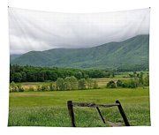 Cades Cove Mountains 1 Tapestry