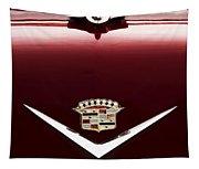 Cadillac Emblem And Hood Ornament Tapestry