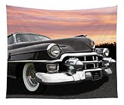 Cadillac Sunset Tapestry