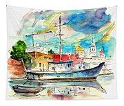Cadiz Spain 10 Tapestry