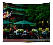 Cafe Alfresco Tapestry