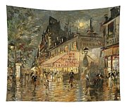 Cafe La Marin. Paris Tapestry