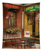 Cafe - The Best Ice Cream In Lancaster Tapestry