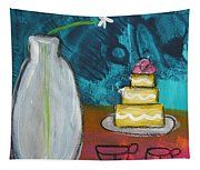 Cake And Tea For Two Tapestry