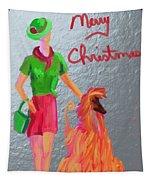 California Christmas Tapestry