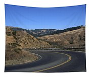 California Curve Tapestry