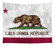 California Flag Tapestry