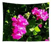 California Flowers Tapestry