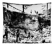 California: Mining, 1850s Tapestry
