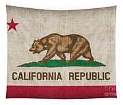 California State Flag Tapestry