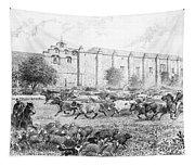 California Vaqueros Tapestry