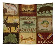 Call Of The Wilderness Tapestry
