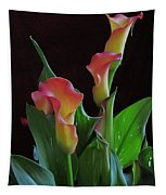 Calla Lilies 2  Tapestry