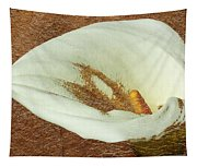 Calla Lily Gold Leaf Tapestry