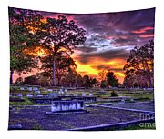 Callaway Graves At Sunset Tapestry