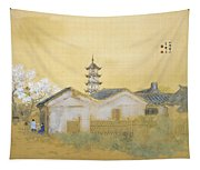 Calm Spring In Jiangnan Tapestry