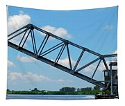 Caloosahatchee Train Draw Bridge Tapestry