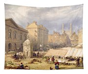 Cambridge Market Place, 1841 Tapestry