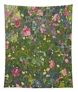 Camellia In Flower Tapestry