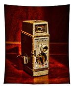 Camera - Vintage Bell And Howell Sun Dial 319 Tapestry