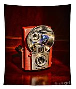 Camera - Vintage Brownie Starflash Tapestry