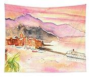 Camogli In Italy 06 Tapestry