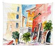 Camogli In Italy 13 Tapestry