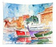 Camogli In Italy 14 Tapestry